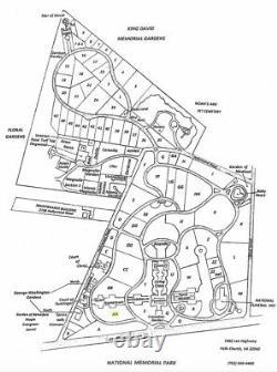 Double-depth Cemetery Plot, National Memorial Park, George Washington section