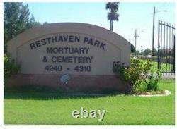 East Resthaven Memorial Park Phoenix AZ- 6 adjacent Cemetery Plots $3,000 each
