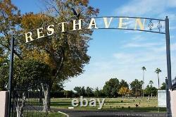 East Resthaven Memorial Park in Phoenix AZ- adjacent Cemetery Plots