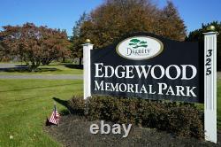 Edgewood Memorial Park Burial (2) Two Plots - HALF PRICE