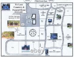 Fir Lane Memorial Park Double Depth Grave Site