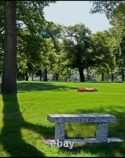 Forest Lawn Memorial Park Burial Cemetery Plots Side by Side-Detroit Michigan