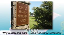 Grave Plot-cresthaven Memorial Park- Clifton Nj-lilly Section