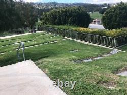 Green Hills Memorial Park, Rancho Palos Verdes. Companion Plot, Vaults Included