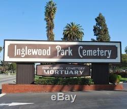 Inglewood Park Cemetery Mausoleum Sanctuary of Sunset Los Angeles Calif