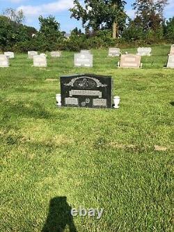 Lorraine Park Cemetery Half Plot 2 Graves withMonument Space A & B Lot 193 Sect 10
