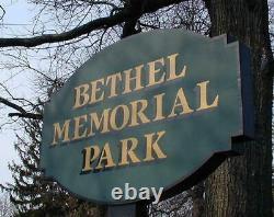 Mausoleum Crypt Single Bethel Memorial Park Pennsauken Township NJ