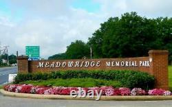 Meadowridge Memorial Park Burial Plot