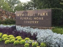 Memphis TN Memorial Park Cemetery Two Spaces in Sold Out Mausoleum