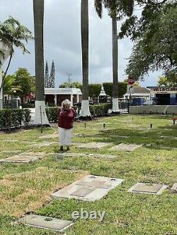 Miami Florida Gravesite Garden Of The little Flower Flagler Memorial Park