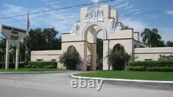 Miami Memorial Park Cemetery Plot 6 Spaces