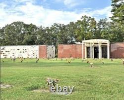 New Crypt In Mausoleum Bldg B, Section A, Washington Memorial Park, Sandston, VA