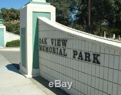 Oak View Memorial Park Cemetery, Antioch, Ca 2 Plots 7&8 Lot 230
