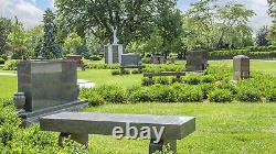 One Burial Plot in Ivy Section of Memorial Park Cemetery in Skokie, Illinois