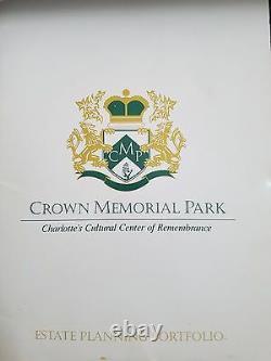 One Cemetery Plot & Vault for Sale Crown Memorial Park, Pineville, NC