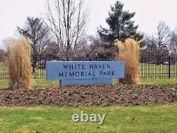 One Cemetery Plot White Haven Memorial Park Pittsford, Ny 210 Marsh Rd Rochester