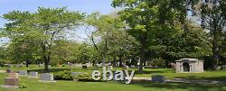 Pair of Burial Plots / WOODLAWN Cemetery / Highland Park, Michigan / Detroit