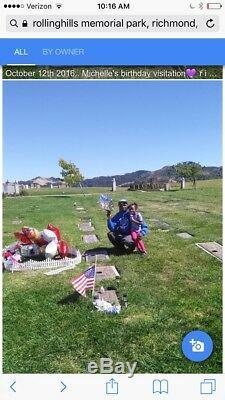 Rolling hills memorial park cemetery single burial plot