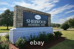 Sherwood Memorial Park Two Cemetary Plots for Sale Available Now
