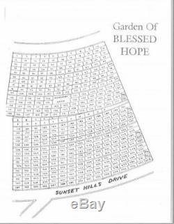 Sunset Hills Memorial Park Burial Plots Blessed Hope Portland, Oregon UNL