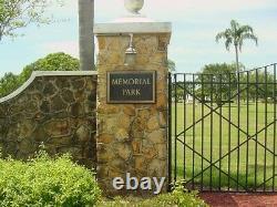 Two (2) Cemetery Plots in Memorial Park St. Petersburg, Fl