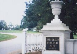 Two Burial Plots with Burial Vaults Jefferson Memorial Park Pittsburgh PA 15236
