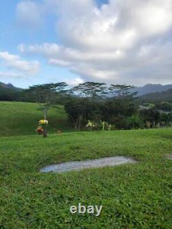 VIEW Cemetery Plot (1) Hawaiian Memorial Park Peace Kaneohe, HI (Oahu)